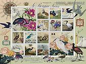 ,LANDSCAPES, LANDSCHAFTEN, PAISAJES, LornaFinchley, paintings+++++,USHCFIN0220AZ,#L#, EVERYDAY ,vintage,stamps,puzzle,puzzles