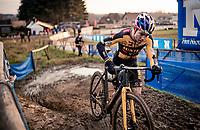Wout van Aert (BEL/Jumbo-Visma) racing the 2021 GP Sven Nys in Baal, Belgium on New Years Day 2021