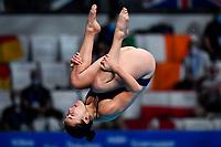 CRYAN Clare IRL <br /> 3m Springboard Women Preliminary <br /> Diving <br /> Budapest  - Hungary  15/5/2021<br /> Duna Arena<br /> XXXV LEN European Aquatic Championships<br /> Photo Giorgio Perottino / Deepbluemedia / Insidefoto