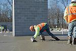 Wesley Woods Concrete Pouring Job Site Photography | Corna-Kokosing