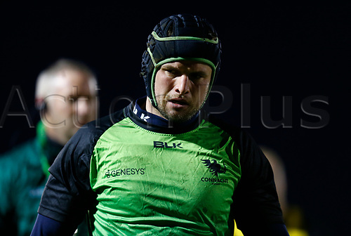13th March 2021; Galway Sportsgrounds, Galway, Connacht, Ireland; Guinness Pro 14 Rugby, Connacht versus Edinburgh; Eoghan Masterson (Connacht) pictured during the warm up