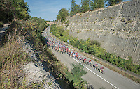 As if the peloton moves through a canyon in the south of France... NOT! This is Belgium! <br /> <br /> 12th Eneco Tour 2016 (UCI World Tour)<br /> Stage 6: Riemst › Lanaken (185km)