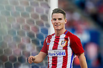 Kevin Gameiro of Club Atletico de Madrid celebrates during their La Liga match between Club Atletico de Madrid and Malaga CF at the Estadio Vicente Calderón on 29 October 2016 in Madrid, Spain. Photo by Diego Gonzalez Souto / Power Sport Images