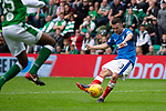 13.05.2018 Hibs v Rangers: Jason Holt scores goal no 4 for Rangers