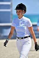 MIAMI BEACH, FL - APRIL 06: Athina Onassis attends the Longines Global Champions Tour stop in Miami Beach. Athina Helene Onassis Roussel is a French-Greek heiress, the only surviving descendant of Greek shipping magnate Aristotle Onassis, and the sole heir of Aristotle's daughter Christina Onassis, who inherited 55% of his fortune on April 6, 2018 in Miami Beach, Florida.<br /> <br /> People:  Athina Onassis