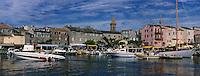 Europe/France/Corse/2B/Haute-Corse/Cap Corse/Nebbio/Saint-Florent: Le port