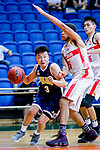Liang Man Hung #3 of Winling Basketball Club goes to the basket against the Nam Ching during the Hong Kong Basketball League game between Nam Ching vs Winling at Southorn Stadium on May 11, 2018 in Hong Kong. Photo by Yu Chun Christopher Wong / Power Sport Images