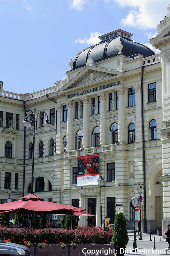 Philharmonie in Vilnius, Litauen, Europa, Unesco-Weltkulturerbe
