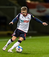 Bolton Wanderers' Jak Hickman breaks<br /> <br /> Photographer Andrew Kearns/CameraSport<br /> <br /> EFL Papa John's Trophy - Northern Section - Group C - Bolton Wanderers v Newcastle United U21 - Tuesday 17th November 2020 - University of Bolton Stadium - Bolton<br />  <br /> World Copyright © 2020 CameraSport. All rights reserved. 43 Linden Ave. Countesthorpe. Leicester. England. LE8 5PG - Tel: +44 (0) 116 277 4147 - admin@camerasport.com - www.camerasport.com