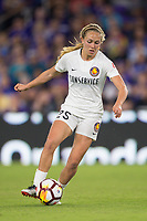 Orlando, FL - Saturday March 24, 2018: Utah Royals forward Brittany Ratcliffe (25) during a regular season National Women's Soccer League (NWSL) match between the Orlando Pride and the Utah Royals FC at Orlando City Stadium. The game ended in a 1-1 draw.