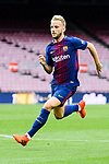 Ivan Rakitic of FC Barcelona runs during the La Liga 2017-18 match between FC Barcelona and Las Palmas at Camp Nou on 01 October 2017 in Barcelona, Spain. (Photo by Vicens Gimenez / Power Sport Images
