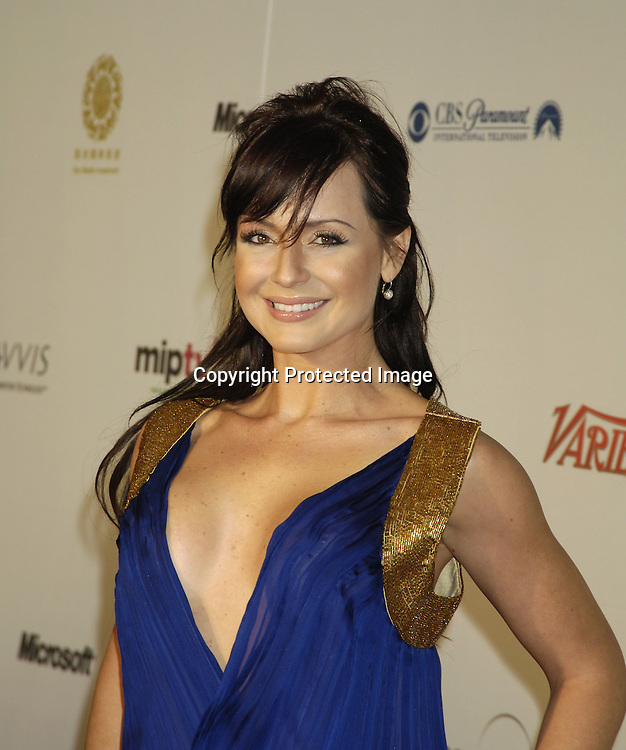Gabriela Spanic ..at The Arrivals for The 33rd  International Emmy Awards Gala on November 21, 2005 at The New York Hilton Hotel...Photo by Robin Platzer, Twin Images