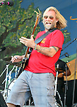 NEW ORLEANS, LA - MAY 05: Musician Anders Osborne performs during the 2012 New Orleans Jazz & Heritage Festival at the Fair Grounds Race Course on May 5, 2012 in New Orleans, Louisiana.