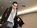 Actor Chris Pine Arrives in Japan