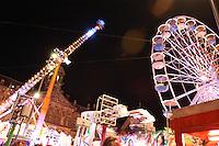 AMSTERDAM-HOLANDA- Rueda panorámica ubicada en la misma plaza en donde está el Monumento Nacional Dam./ Ferris wheel located in the same place where the National Monument Dam. Photo: VizzorImage/STR