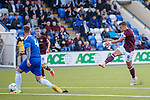 18.07.18 Cove Rangers v Hearts:  Olly Lee scores for Hearts