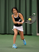 March 15, 2015, Netherlands, Rotterdam, TC Victoria, NOJK, Lian Tran (NED)<br /> Photo: Tennisimages/Henk Koster