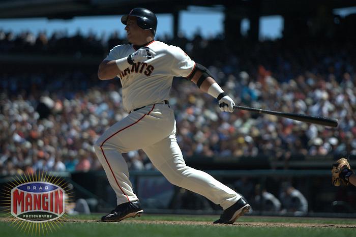 Andres Galarraga. Baseball: Pittsburgh Pirates vs San Francisco Giants. San Francisco, CA 8/7/2003 MANDATORY CREDIT: Brad Mangin
