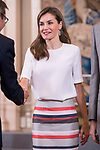 Queen Letizia of Spain attends to several audiences at Zarzuela Palace in Madrid, July 05, 2017. Spain.<br /> (ALTERPHOTOS/BorjaB.Hojas)
