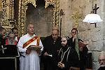 Jerusalem, Maundy Thursday at the Syrian Orthodox St. Mark's Church