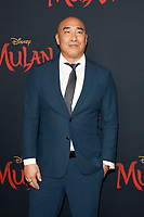 "LOS ANGELES - MAR 9:  Ron Yuan at the ""Mulan"" Premiere at the Dolby Theater on March 9, 2020 in Los Angeles, CA"