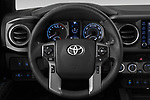 Car pictures of steering wheel view of a 2020 Toyota Tacoma TRD-Pro 4 Door Pick-up Steering Wheel