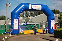 Netherlands, Amstelveen, August 22, 2015, Tennis,  National Veteran Championships, NVK, TV de Kegel,  welcome<br /> Photo: Tennisimages/Henk Koster