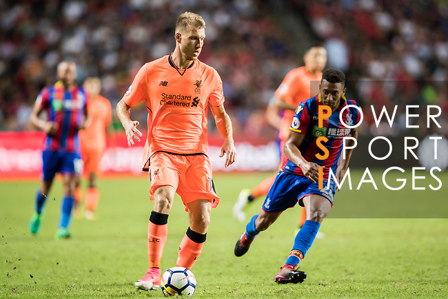 Liverpool FC defender Ragnar Klavan in action during the Premier League Asia Trophy match between Liverpool FC and Crystal Palace FC at Hong Kong Stadium on 19 July 2017, in Hong Kong, China. Photo by Yu Chun Christopher Wong / Power Sport Images