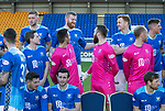 St Johnstone FC Photocall….2018/19 Season<br />A fuss is made of Brian Easton as he pulls on a saints top for the first time this season as he recovers from injury<br />Picture by Graeme Hart.<br />Copyright Perthshire Picture Agency<br />Tel: 01738 623350  Mobile: 07990 594431