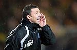 St Johnstone v Celtic..27.10.10  .Derek McInnes shouts.Picture by Graeme Hart..Copyright Perthshire Picture Agency.Tel: 01738 623350  Mobile: 07990 594431