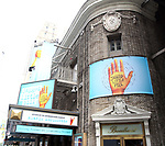 """Theatre Marquee unveiling for Alanis Morissette's Grammy Award-winning album, """"Jagged Little Pill"""" directed by Diane Paulus with a book by Academy Award winner Diablo Cody on September 11, 2019 at the Broadhurst Theatre in New York City."""
