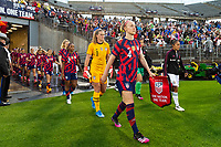 EAST HARTFORD, CT - JULY 1: Becky Sauerbrunn #4 of the United States before a game between Mexico and USWNT at Rentschler Field on July 1, 2021 in East Hartford, Connecticut.