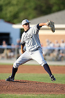 July 9th 2007:  Adam Olbrychowski of the Staten Island Yankees, Class-A affiliate of the New York Yankees, at Dwyer Stadium in Batavia, NY.  Photo by:  Mike Janes/Four Seam Images