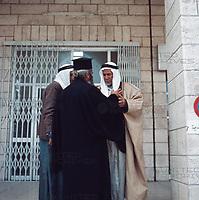 Reise nach Bethlehem, 1970er Jahre. A journey to Bethlehem, 1970s.