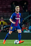 Ivan Rakitic of FC Barcelona reacts during the UEFA Champions League 2017-18 match between FC Barcelona and Olympiacos FC at Camp Nou on 18 October 2017 in Barcelona, Spain. Photo by Vicens Gimenez / Power Sport Images