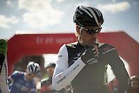 Fabian Cancellara (CHE/TrekFactoryRacing) at the start<br /> <br /> 102nd Scheldeprijs 2014