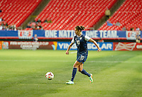 Atlanta, GA - US Women's  National Team plays international friendly match against Russia at Georgia Dome, Thursday, February 13, 2014. The U.S. defeated Russia, 8-0.