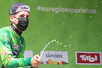 21st April 2021; Imst, Austria;  Cycling Tour des Alpes Stage 3,  Imst in Austria to Naturns/Naturno, Italy; Simon Yates Team BikeExchange holds the tour lead