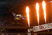 Lawson Bopping / Yamaha<br /> 2015 Round 5 / Class : SX1<br /> Australian Supercross Championship / AUS-X Open<br /> Sydney NSW Saturday 28 November 2015<br /> © Sport the library / Jeff Crow