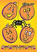 Lori, CUTE ANIMALS, LUSTIGE TIERE, ANIMALITOS DIVERTIDOS, halloween, paintings+++++3-FallPumpkins,USLS101,#ac#, EVERYDAY