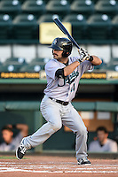 Jupiter Hammerheads infielder Ryan Goetz (11) at bat during a game against the Bradenton Marauders on June 25, 2014 at McKechnie Field in Bradenton, Florida.  Bradenton defeated Jupiter 11-0.  (Mike Janes/Four Seam Images)