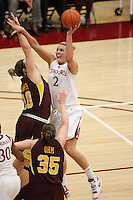 STANFORD, CA - NOVEMBER 14: Jayne Appel of the Stanford Cardinal during Stanford's 68-55 win over the Minnesota Golden Gophers on November 14, 2008 in Stanford, California.