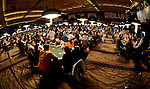 A view of the turnament area on Day 1A.