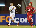 IR Iran plays against China PR during the AFC U-16 Women's Championship China 2015 Group A match at the Xinhua Road Stadium on 06 November 2015 in Wuhan, China. Photo by Aitor Alcalde / Power Sport Images