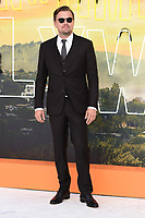 """LONDON, UK. July 30, 2019: Leonardo Dicaprio at the UK premiere for """"Once Upon A Time In Hollywood"""" in Leicester Square, London.<br /> Picture: Steve Vas/Featureflash"""