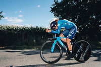 6th October 2021 Womens Cycling Tour, Stage 3. Individual Time Trial; Atherstone to Atherstone. Sheyla Gutierrez Ruiz.