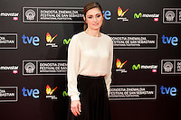 """French actress Julie Gayet posses in the photocall of the """"Quai D´orsay"""" film premiere during the 61 San Sebastian Film Festival, in San Sebastian, Spain. September 24, 2013. (ALTERPHOTOS/Victor Blanco) <br /> San Sebastian Film Festival <br /> Foto Insidefoto"""