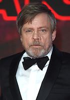 "Mark Hamill<br /> arriving for the ""Star Wars: The Last Jedi"" film premiere at the Royal Albert Hall, London.<br /> <br /> <br /> ©Ash Knotek  D3363  12/12/2017"