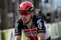Philippe Gilbert (BEL/Lotto-Soudal) crossing the finish line an anonymous 70th<br /> <br /> 85th La Flèche Wallonne 2021 (1.UWT)<br /> 1 day race from Charleroi to the Mur de Huy (BEL): 194km<br /> <br /> ©kramon