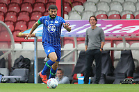 Sam Morsy of Wigan in action during Brentford vs Wigan Athletic, Sky Bet EFL Championship Football at Griffin Park on 4th July 2020